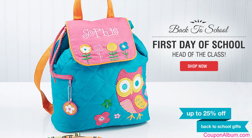 Personalization Mall Back-to-School Offer