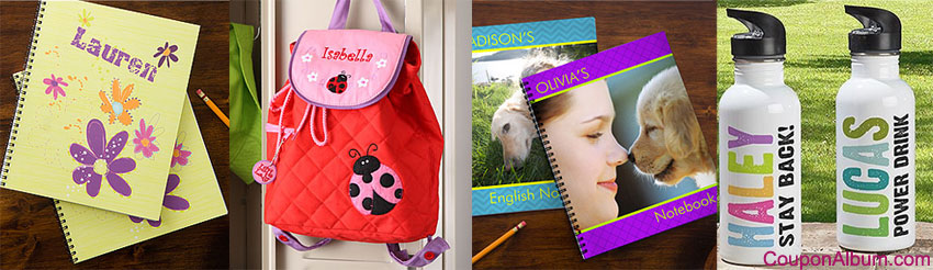Personalization Mall Back- to School Deals