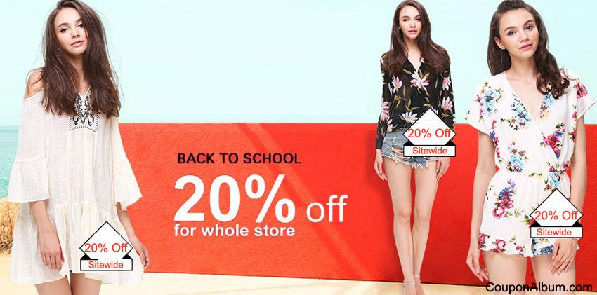 SheInside Back-to-School Offer