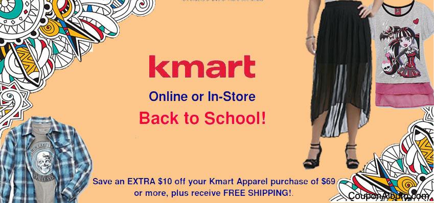 Kmart Back-to-School Offer