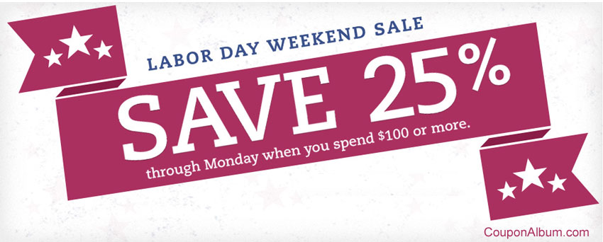 OnlineShoes.com Labor Day Weekend Sale