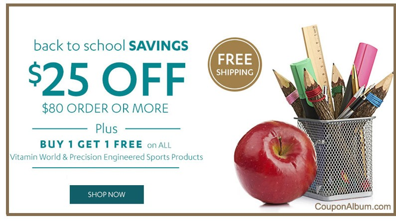 Vitamin World Back-to-School Offer