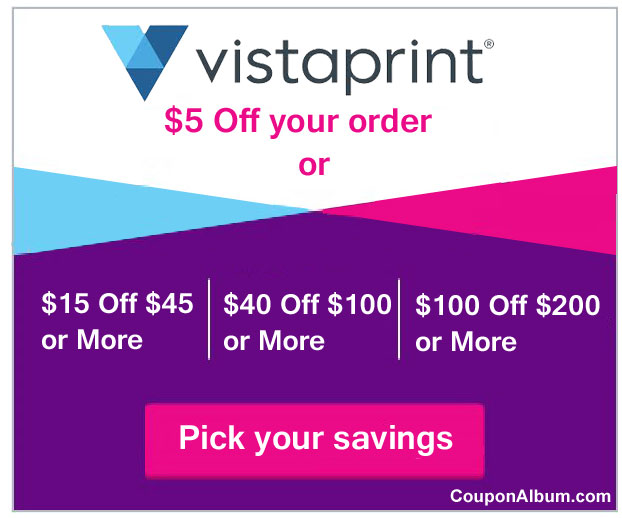 Vistaprint Offer