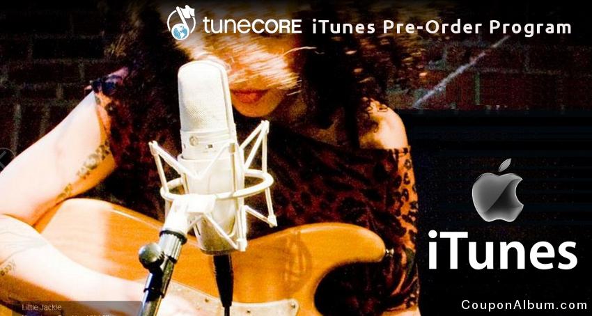 TuneCore iTunes Pre-Order