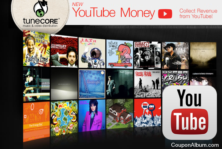 TuneCore YouTube Money