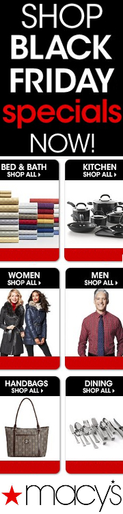 Macy's has over years of experience in the American retail industry and now – thanks to the power of the Internet – customers in over countries can take advantage of the Macy's difference.
