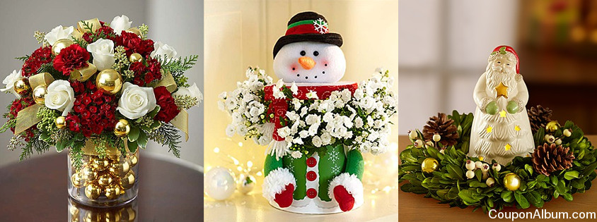 1800 Flower christmas gifts