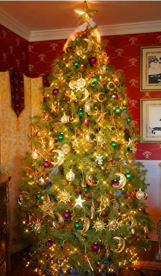 Christmas tree decor ideas 2014