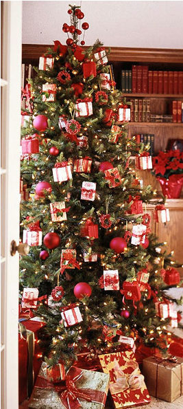 Christmas tree decorating ideas 2014