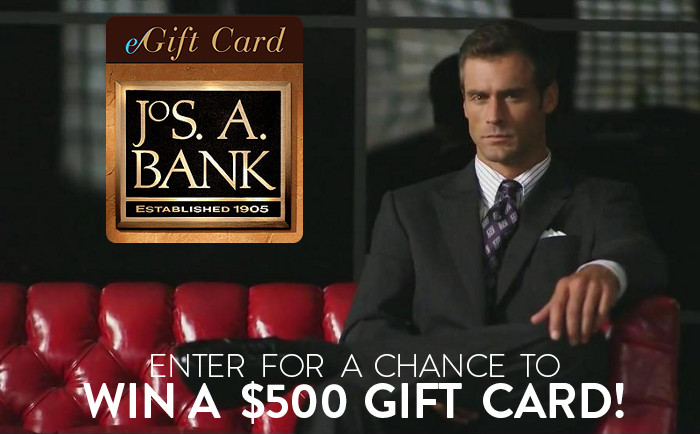 Jos A Bank Online Sweepstakes
