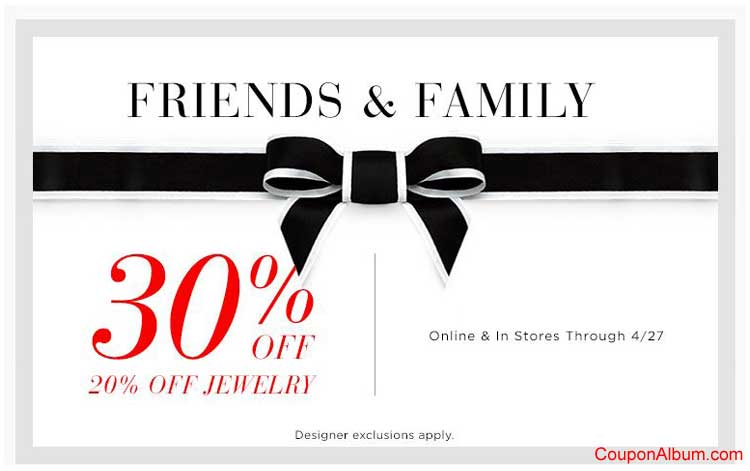 Saks Fifth Avenue coupons