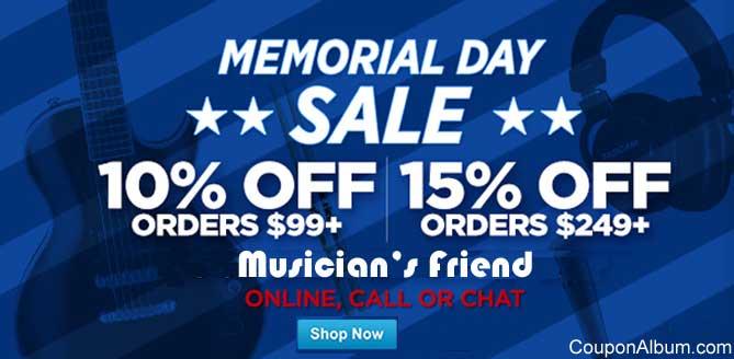 Musicians Friend coupons