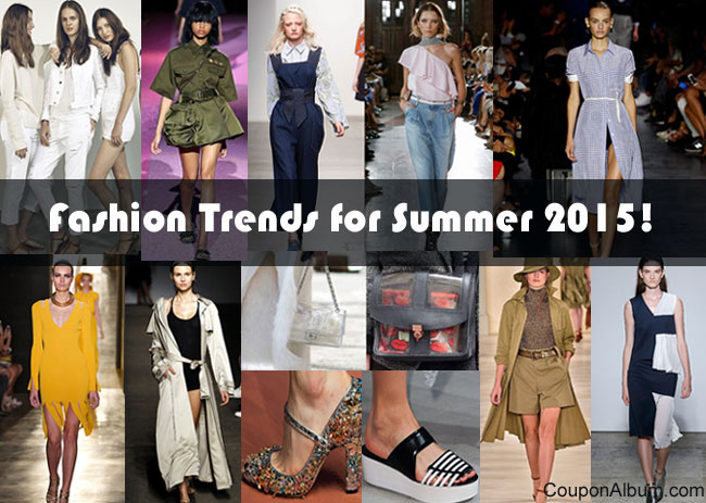 Fashion Trends for Summer 2015