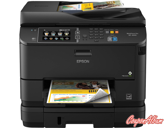 Epson WorkForce Pro WF-4640 Wireless All-In-One Printer