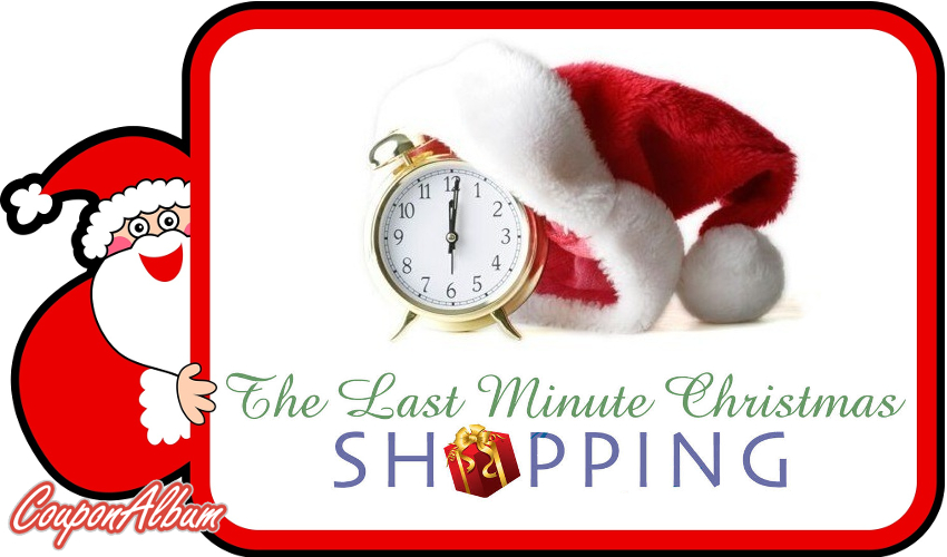 Last-Minute Christmas Shopping