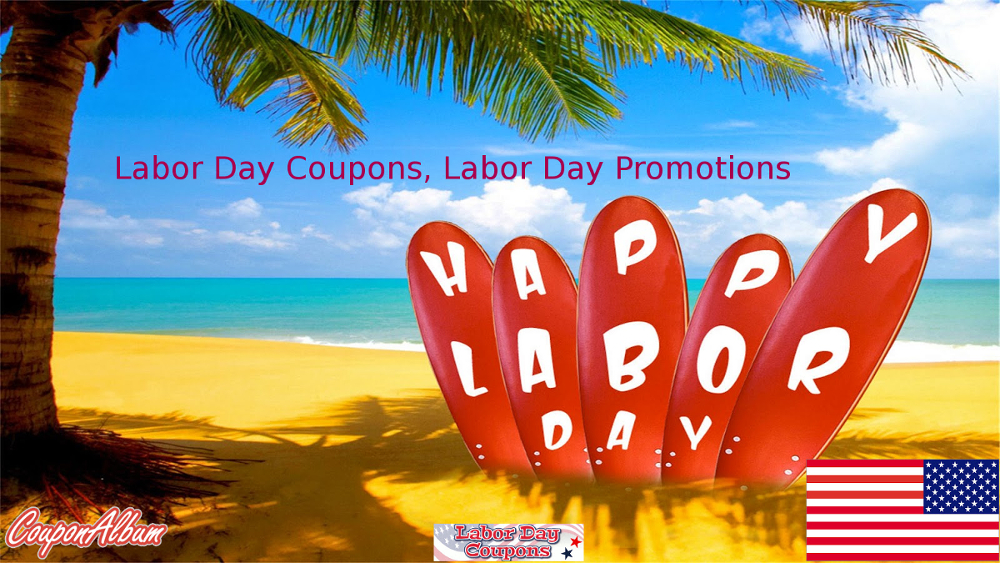 CouponAlbum Labor Day Offers