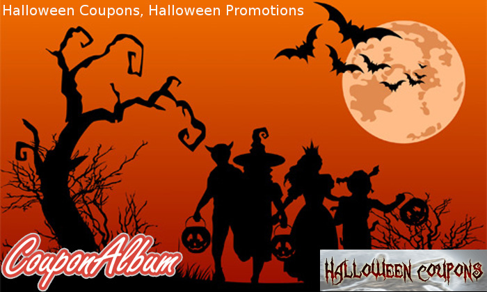Halloween Coupons, Halloween Promotions